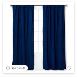 Pillowfort curtains 42x63 (4 panels)